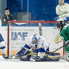 "Senior goalie Steve Thompson stops another shot on goal during the Nanooks' 2-1 win over North Dakota in the Carlson Center.  <div class=""ss-paypal-button"">Filename: ATH-12-3601-35.jpg</div><div class=""ss-paypal-button-end"" style=""""></div>"