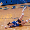 "Freshman Kylie Dickerson hits the deck going for a dig during the Nanooks' match against Montana State-Billings in the Patty Center.  <div class=""ss-paypal-button"">Filename: ATH-12-3638-148.jpg</div><div class=""ss-paypal-button-end"" style=""""></div>"