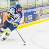 "Sophomore Tyler Morley controls the puck early in the Nanooks' game against the Mercyhurst Lakers in the Patty Ice Arena.  <div class=""ss-paypal-button"">Filename: ATH-13-3982-62.jpg</div><div class=""ss-paypal-button-end"" style=""""></div>"