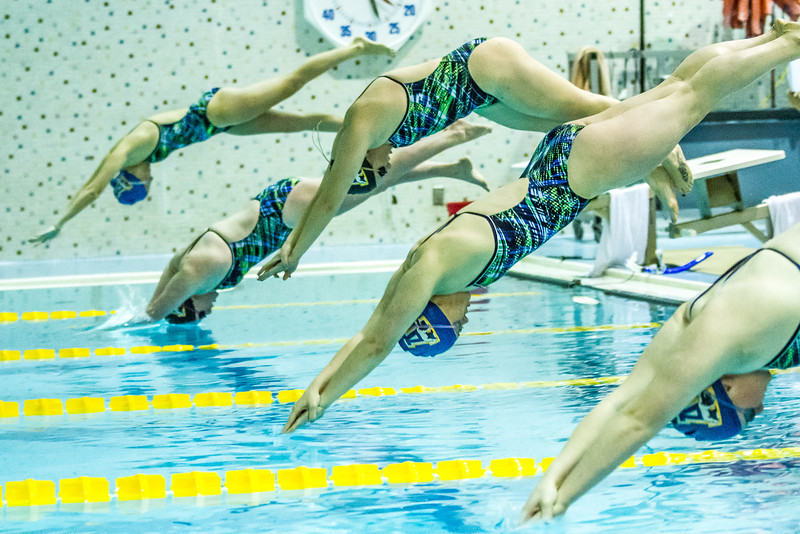"""Nanook swimmers dive in a friendly but fierce competition during the 2012 Blue and Gold Swim Meet Saturday, Oct. 13 at the Patty Center.  <div class=""""ss-paypal-button"""">Filename: ATH-12-3588-46.jpg</div><div class=""""ss-paypal-button-end"""" style=""""""""></div>"""