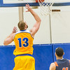 "Senior forward Dallen Bills lays one off the glass in the first half of the Nanooks' 83-72 win over Fresno Pacific in the championship game of the GCI Alaska Invitational tournament in the Patty gym.  <div class=""ss-paypal-button"">Filename: ATH-13-4005-31.jpg</div><div class=""ss-paypal-button-end"" style=""""></div>"