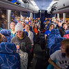 "All aboard! The UAF contingent made up of students takes one photo before leaving Fairbanks for the Alaska Airlines Governor's Cup hockey game in Anchorage.  <div class=""ss-paypal-button"">Filename: ATH-13-4017-10.jpg</div><div class=""ss-paypal-button-end"" style=""""></div>"