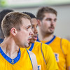 """Nanooks' big men Stefan Tica, Andrew Kelly and Sergej Pucar hear instructions from the bench as they set up on an inbounds play during the Nanooks' 83-72 win over Fresno Pacific in the championship game of the GCI Alaska Invitational tournament.  <div class=""""ss-paypal-button"""">Filename: ATH-13-4005-69.jpg</div><div class=""""ss-paypal-button-end"""" style=""""""""></div>"""