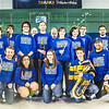 "The Nanooks Pep Band pose for a photo on the ice after a game in the Carlson Center.  <div class=""ss-paypal-button"">Filename: ATH-14-4109-330.jpg</div><div class=""ss-paypal-button-end""></div>"
