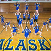 "The UAF cheerleading squad performs a variety of poses and routines during a practice session in the Patty Gym.  <div class=""ss-paypal-button"">Filename: ATH-13-3751-31.jpg</div><div class=""ss-paypal-button-end"" style=""""></div>"