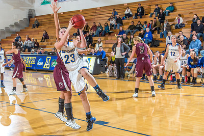 Freshman forward Jordan Wilson gets past her defender to score two of her game high 25 points during the Nanooks' first GNAC game of the season against Seattle Pacific.  Filename: ATH-13-4015-86.jpg