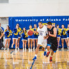 "Joe Slocum pushes the ball up the court during the Nanooks' game against Northwest Indian College in the Patty Center.  <div class=""ss-paypal-button"">Filename: ATH-13-4034-44.jpg</div><div class=""ss-paypal-button-end"" style=""""></div>"