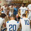 "Head Coach Mick Durham counsels his team at a game against University of Alaska Fairbanks at the Patty Gym.  <div class=""ss-paypal-button"">Filename: ATH-14-4098-248.jpg</div><div class=""ss-paypal-button-end""></div>"