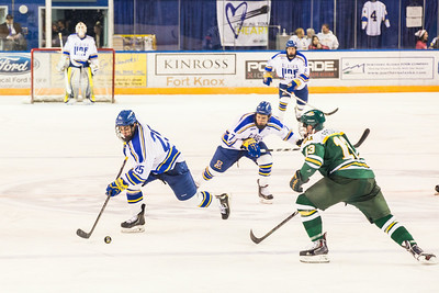 Alaska Nanooks battle UAA SeaWolves for the 2014 Governor's Cup at the Carlson Center.  Filename: ATH-14-4105-149.jpg