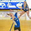 "Freshman Katlyn Mataya watches the ball go out of bounds for a Nanooks' point during their match against Montana State-Billings in the Patty Center.  <div class=""ss-paypal-button"">Filename: ATH-12-3638-56.jpg</div><div class=""ss-paypal-button-end"" style=""""></div>"