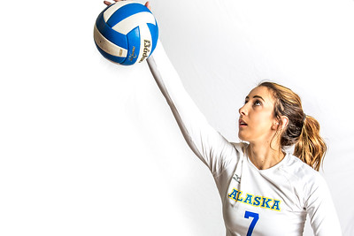 Riley Podowicz is a middle blocker on the Nanooks from Olympia, Washington.  Filename: ATH-15-4615-160.jpg