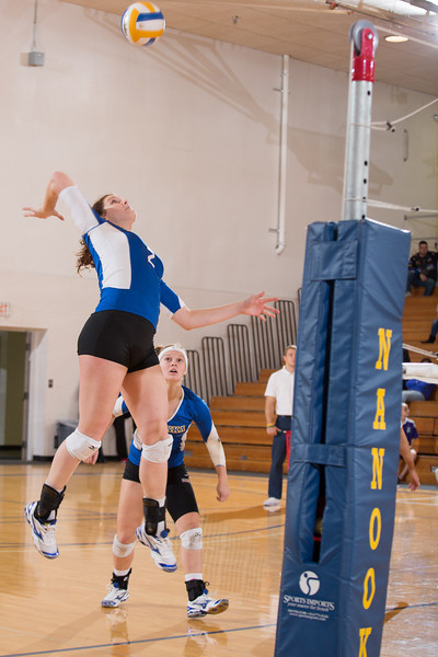 """Sophomore Morgan Tebbs skies for a kill during the Nanooks' win over Simon Fraser in the Patty Center.  <div class=""""ss-paypal-button"""">Filename: ATH-12-3581-178.jpg</div><div class=""""ss-paypal-button-end"""" style=""""""""></div>"""