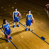"Sophomores Benissa Bulaya, left, and Kelly Logue, center, join senior Jacqueline Lovato on the Patty Center court.  <div class=""ss-paypal-button"">Filename: ATH-12-3625-001.jpg</div><div class=""ss-paypal-button-end"" style=""""></div>"