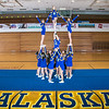 "The UAF cheerleading squad performs a variety of poses and routines during a practice session in the Patty Gym.  <div class=""ss-paypal-button"">Filename: ATH-13-3751-53.jpg</div><div class=""ss-paypal-button-end"" style=""""></div>"
