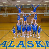 "The 2014 Nanook cheerleaders pose in the Patty Gym.  <div class=""ss-paypal-button"">Filename: ATH-14-4044-63.jpg</div><div class=""ss-paypal-button-end"" style=""""></div>"