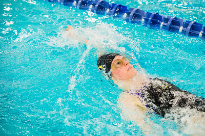 Nanook swimmers take part in a swim meet at the Patty Center pool.  Filename: ATH-14-4050-92.jpg