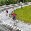 "Members of UAF's cross-country ski team get in a late-summer workout along the campus bike trails.  <div class=""ss-paypal-button"">Filename: ATH-15-4607-16.jpg</div><div class=""ss-paypal-button-end""></div>"