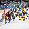 "UAF Nanooks' Men's Hockey Team face off Bowling Green State University Saturday, Dec. 8, 2012, at the Carlson Center. The Nanooks won the shootout at the end of a tied game.  <div class=""ss-paypal-button"">Filename: ATH-12-3676-17.jpg</div><div class=""ss-paypal-button-end"" style=""""></div>"