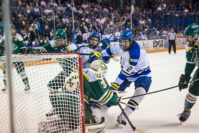 Alaska Nanooks Mens Hockey Team and the SeaWolves face off at the Carlson Center.  Filename: ATH-14-4118-53.jpg