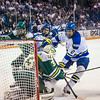 """Alaska Nanooks Mens Hockey Team and the SeaWolves face off at the Carlson Center.  <div class=""""ss-paypal-button"""">Filename: ATH-14-4118-53.jpg</div><div class=""""ss-paypal-button-end""""></div>"""