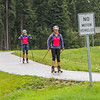 "Members of UAF's cross-country ski team get in a late-summer workout along the campus bike trails.  <div class=""ss-paypal-button"">Filename: ATH-15-4607-05.jpg</div><div class=""ss-paypal-button-end""></div>"