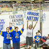 "Nanook fans show their support in Anchorage's Sullivan Arena during the UAF-UAA battle for the Alaska Airlines Governor's Cup trophy.  <div class=""ss-paypal-button"">Filename: ATH-15-4478-176.jpg</div><div class=""ss-paypal-button-end""></div>"