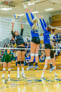Action from the Nanooks match in the 2013 Nanook Classic tournament in the Patty Center.  Filename: ATH-13-3930-191.jpg