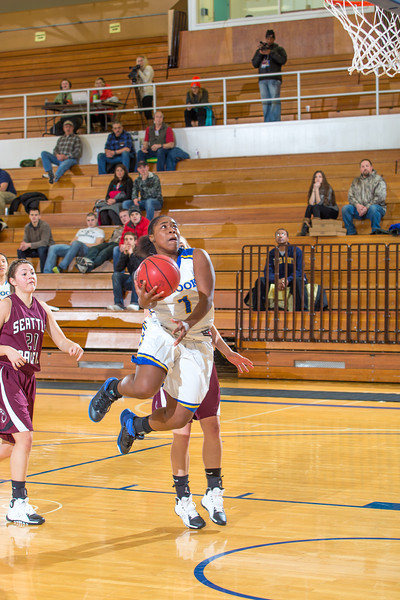 "Freshman point guard Victoria Milton drives toward the bucket during the Nanooks' first GNAC game of the season against Seattle Pacific.  <div class=""ss-paypal-button"">Filename: ATH-13-4015-35.jpg</div><div class=""ss-paypal-button-end"" style=""""></div>"