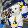 "The mascot cheers on the crowd at the start of the Nanooks' game against Mercyhurst Oct. 25 in the Patty Ice Arena.  <div class=""ss-paypal-button"">Filename: ATH-13-3982-2.jpg</div><div class=""ss-paypal-button-end"" style=""""></div>"
