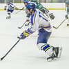 "Freshman Jaren Linnell controls the puck late in the Nanooks' game against the Mercyhurst Lakers in the Patty Ice Arena.  <div class=""ss-paypal-button"">Filename: ATH-13-3982-187.jpg</div><div class=""ss-paypal-button-end"" style=""""></div>"