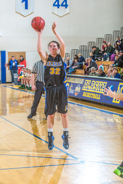 "Freshman Kailee Skjold puts up a three-pointer from the wing during the second half of the Nanooks game against the rival Seawolves from UAA Jan. 18 in the Patty Gym.  <div class=""ss-paypal-button"">Filename: ATH-14-4041-81.jpg</div><div class=""ss-paypal-button-end"" style=""""></div>"