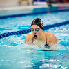 "Junior Martha Hood competes in the breastroke leg of the 200-yard individual medley during the Nanooks' meet against Concordia-Irvine on Friday, Nov. 11, 2016 in the Patty Pool.  <div class=""ss-paypal-button"">Filename: ATH-16-5059-10.jpg</div><div class=""ss-paypal-button-end""></div>"