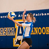 "Senior Reilly Stevens gets ready to serve during the Nanooks' win over Simon Fraser in the Patty Center.  <div class=""ss-paypal-button"">Filename: ATH-12-3581-142.jpg</div><div class=""ss-paypal-button-end"" style=""""></div>"