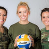 "Members of the Nanook volleyball team wear fatigues to promote military appreciation.  <div class=""ss-paypal-button"">Filename: ATH-13-3908-169.jpg</div><div class=""ss-paypal-button-end"" style=""""></div>"