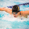 "Junior Noelle Graham competes in the second heat of the 100-yard butterfly during the Nanooks' meet against Concordia-Irvine on Friday, Nov. 11, 2016 in the Patty Pool.  <div class=""ss-paypal-button"">Filename: ATH-16-5059-13.jpg</div><div class=""ss-paypal-button-end""></div>"