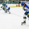 "Freshman Jared Linnell controls the puck with his skate in the Nanooks' game against the Mercyhurst Lakers in the Patty Ice Arena.  <div class=""ss-paypal-button"">Filename: ATH-13-3982-156.jpg</div><div class=""ss-paypal-button-end"" style=""""></div>"