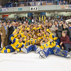 "Alaska Governor Sean Parnell (kneeling at lower right) joins the Nanooks in their post-game celebration and photos with the Alaska Airlines Governor's Cup after their thrilling victory over the UAA Seawolves to claim the coveted trophy for the third time in the past four years.  <div class=""ss-paypal-button"">Filename: ATH-12-3304-334.jpg</div><div class=""ss-paypal-button-end"" style=""""></div>"