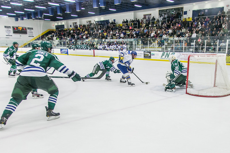 "Sophomore Tyler Morley just missed scoring on this opportunity during the Nanooks' game against the Mercyhurst Lakers in the Patty Ice Arena.  <div class=""ss-paypal-button"">Filename: ATH-13-3982-102.jpg</div><div class=""ss-paypal-button-end"" style=""""></div>"