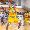 """Junior guard Rashaad Allen scores an easy bucket late in the game against Mary in the GCI Alaska Invitational Tournament in the Patty Gym.  <div class=""""ss-paypal-button"""">Filename: ATH-13-4004-174.jpg</div><div class=""""ss-paypal-button-end"""" style=""""""""></div>"""