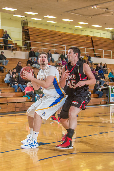 "Junior center Sergej Pucar battles inside during the second half of the Nanooks' 81-58 win over Saint Martin's Jan. 10 in the Patty Center.  <div class=""ss-paypal-button"">Filename: ATH-13-3695-68.jpg</div><div class=""ss-paypal-button-end"" style=""""></div>"