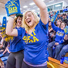 "UAF students Delaney Burks, left, and Laura Mae Kacsh enjoy themselves during a timeout in the the Nanooks gave against the UAA Seawolves in the Patty Center.  <div class=""ss-paypal-button"">Filename: ATH-13-3700-80.jpg</div><div class=""ss-paypal-button-end"" style=""""></div>"