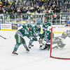 "Several Lakers from Mercyhurst gather to clear the puck from in front of their net after the Nanooks just missed scoring during their game in the Patty Ice Arena.  <div class=""ss-paypal-button"">Filename: ATH-13-3982-76.jpg</div><div class=""ss-paypal-button-end"" style=""""></div>"