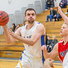 "Forward Stefan Tica passes to an open teammate against Simon Fraser during another Nanook win in the Patty Gym.  <div class=""ss-paypal-button"">Filename: ATH-14-4029-4.jpg</div><div class=""ss-paypal-button-end"" style=""""></div>"