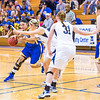 "Junior Ruth O'Neal drives toward the lane during first half action in the Nanooks' game against the Colorado School of Mines in the Patty Center.  <div class=""ss-paypal-button"">Filename: ATH-12-3639-36.jpg</div><div class=""ss-paypal-button-end"" style=""""></div>"