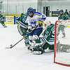 "Sophomore Nolan Huysmans tries to get a shot off early in the Nanooks' game against Mercyhurst in the Patty Ice Arena.  <div class=""ss-paypal-button"">Filename: ATH-13-3982-41.jpg</div><div class=""ss-paypal-button-end"" style=""""></div>"