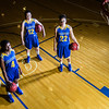 "Sophomores Benissa Bulaya, left, and Kelly Logue, center, join senior Jacqueline Lovato on the Patty Center court.  <div class=""ss-paypal-button"">Filename: ATH-12-3625-004.jpg</div><div class=""ss-paypal-button-end"" style=""""></div>"