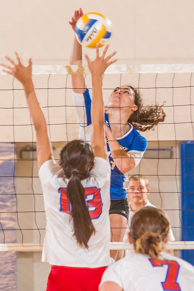 """Junior Keri Knight skies for a kill during the Nanooks' win over Simon Fraser in the Patty Center.  <div class=""""ss-paypal-button"""">Filename: ATH-12-3581-194.jpg</div><div class=""""ss-paypal-button-end"""" style=""""""""></div>"""