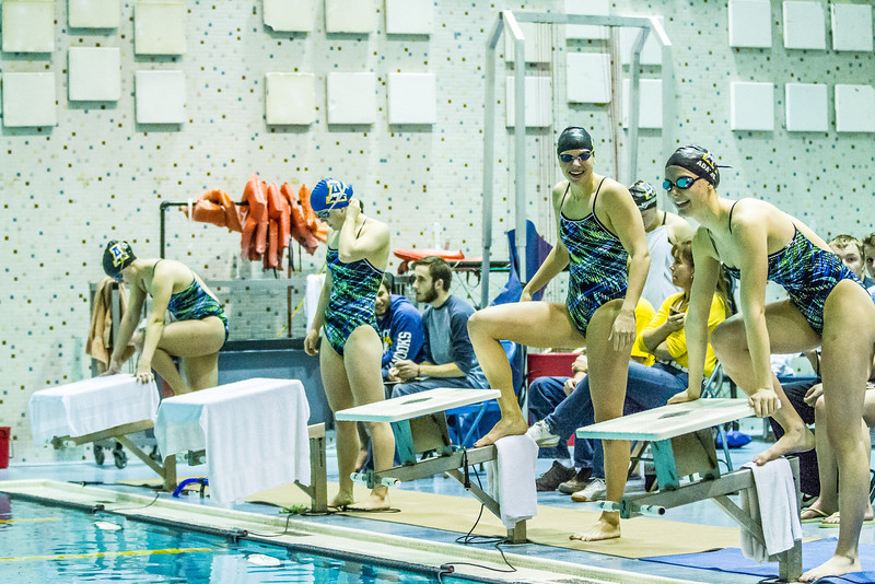 """Nanook swimmers take part in a friendly but fierce competition during the 2012 Blue and Gold Swim Meet Saturday, Oct. 13 at the Patty Center.  <div class=""""ss-paypal-button"""">Filename: ATH-12-3588-51.jpg</div><div class=""""ss-paypal-button-end"""" style=""""""""></div>"""