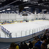 """The Nanooks line up against the Mercyhurst  Lakers from Eerie, Pennsylvania in the Patty Ice Arena.  <div class=""""ss-paypal-button"""">Filename: ATH-13-3982-4.jpg</div><div class=""""ss-paypal-button-end"""" style=""""""""></div>"""