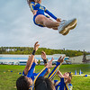 "UAF cheerleaders practice in front of the SRC on the Fairbanks campus.  <div class=""ss-paypal-button"">Filename: ATH-13-3943-93.jpg</div><div class=""ss-paypal-button-end"" style=""""></div>"